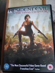 Resident Evil: The Final Chapter [DVD] [2017