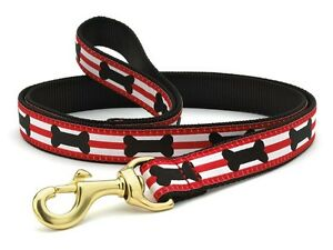 Up Country - Dog Puppy Design Leash - Made In USA - Got Bones ? - 4, 6 Foot