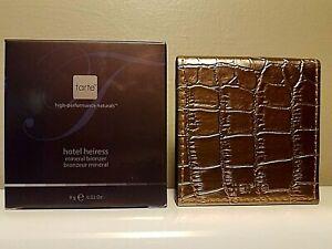 Tarte *HOTEL HEIRESS* Amazonian Clay Mineral Deep Matte Bronzer Shade New in Box