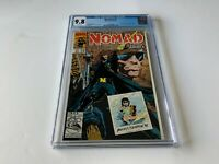 NOMAD V2 1 CGC 9.8 WHITE PAGES TRIPLE GATEFOLD BUCKY MARVEL COMICS 1992