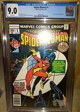 SPIDER-WOMAN #1 ==> CGC 9.0 ORIGIN ISSUE MARVEL COMICS 1978