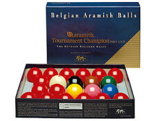 Aramith Pro Cup Tournament Champion Snooker Ball Set with FREE Shipping