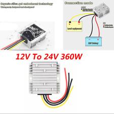 Converter Regulator Boost 12V Step-up To 24V 360W Power Non-isolation Waterproof