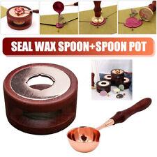 Wax Melting Furnace Spoon Stamp Greeting Card Seal Sealing Tool Sticks Stove