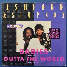 """Ashford & Simpson – Babies (Extended Mix) (Vinyl, 12"""", MAXI 45 TOURS)"""