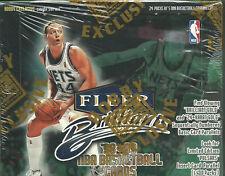 1998-99 Fleer Brilliants Basketball Hobby Sealed Box