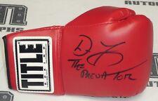 Don Frye Signed Title Boxing Glove BAS Beckett COA UFC Pride FC Legend Autograph