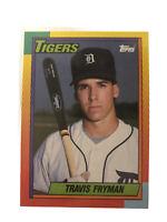 1990 Topps Traded Baseball Card #33T Travis Fryman Rookie