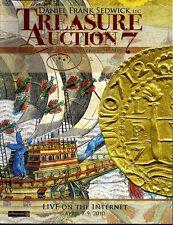 Daniel Frank Sedwick Treasure Auction 7, April 2010, shipwreck treasure coins