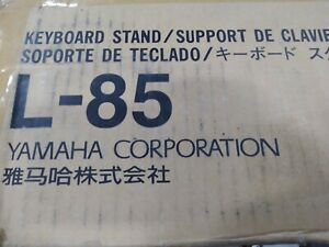 NEW Yamaha L-85 Keyboard Stand Black Wood for P45B, P105B, P115B