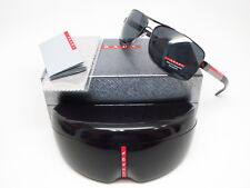8f7b2687417 Authentic Prada Sport SPS 54I 5AV-5Z1 Gunmetal Black w Grey Polarized  Sunglasses