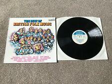 THE BEST OF BRITISH FOLK V/A COMPILATION : NM UK VINYL LP 2870 313 - PRO CLEANED