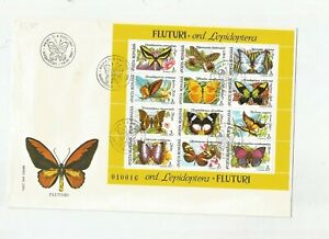 ROMANIA BUTTERFLY COVER