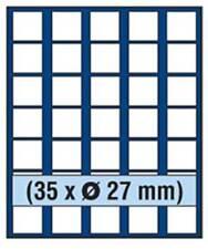 SAFE 6827 NOVA Element exquisite Holz-Münzbox für 35 Münzen mit 27 mm Durchmesse
