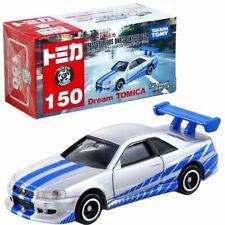 Takara Tomy Dream Tomica #150 Fast & Furious BNR34 Skyline GT-R Diecast Toy Car