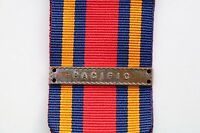 WW2 BRITISH BURMA STAR MEDAL RIBBON CLASP PACIFIC BAR COMMONWEALTH ARMY NAVY