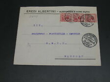 Egypt 1921 cover to germany *11649