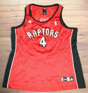 Adidas NBA 4 Her Basketball Toronto Raptors Chris Bosh #4 Jersey Womens Large