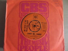 """DR. HOOK & THE MEDICINE SHOW  CARRY ME CARRIE  7"""" VINYL"""