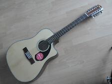 Fender Cd60ce BK Chitarra acustica Amplificata con Pickup Fishman - Promo