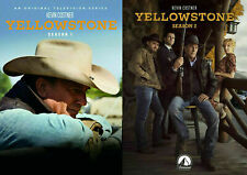 Yellowstone TV Series Complete First & Second Season 1-2 (1 & 2) NEW DVD BUNDLE
