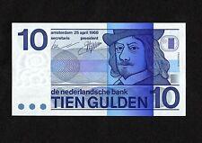 Netherlands 10 Gulden banknote, P91b, 25.04.1968