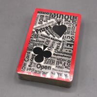 Vintage Plastic Coated Playing Cards Sealed