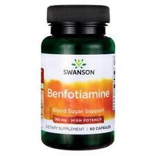 Swanson Ultra High Potency Benfotiamine 160mg x 60 Capsules