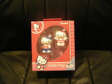 2 x BULLYLAND SANRIO HELLO KITTY COLLECTABLE FIGURES - BRAND NEW IN ORIGINAL BOX