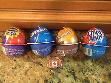 4 Cadbury Creme Chocolate Easter Eggs! Caramilk-Oreo-Chips Cream-Ships from USA!