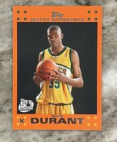 Kevin Durant 2007-08 Topps Orange Rookie Card #2 of 14