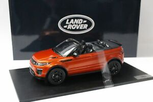Range Rover Evoque Convertible Cabrio orange 2017 - 1:18 True Scale/Top Speed