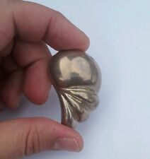 Antique Vintage Mexico Sterling Silver 925 Pin Brooch Pendant