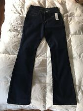 Old Navy Jeans Brand New With Tags Size 2 Dark Denim Curvy Mid Rise