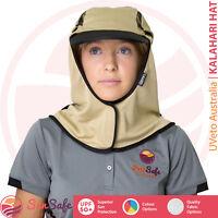 UVeto Australia Kalahari Hat Adult Legionnaire Wrap Around UPF 50+ Adjustable