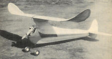 """Model Airplane Plans (FF): Smoky 55"""" Old Timer by Paul Plecan (1946)"""