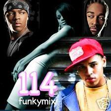 Funkymix 114 CD DJ Remixes Rihanna Chris Brown Missy ++