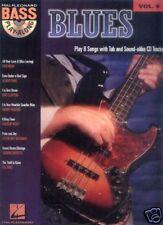Blues Bass Play-Along Noten Tab CD