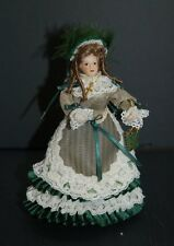 1/12th Scale Lady in Green ~ Outfit Beautifully Handcrafted By Esther Cairns!!!