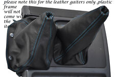 BLUE STITCHING FITS NISSAN PATROL Y60 LEATHER GEAR GAITER SHIFT BOOT ONLY