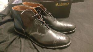 WORN ONLY ONCEAllen Edmonds Fifth Street  Boots sz 9 BLACK