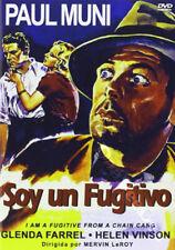 I Am a Fugitive from a Chain Gang NEW PAL Classic DVD Mervyn LeRoy Paul Muni