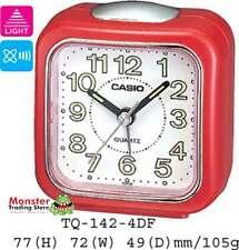 AUSSIE SELER CASIO ALARM DESK CLOCK TQ-142-4D TQ142 TQ-142 12-MONTH WARRANTY