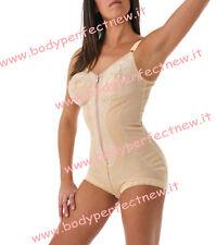 Body contenitivo modellante ortopedico BODYPERFECT con cerniera MADE IN ITALY