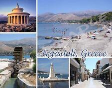 Greece - ARGOSTOLI - Travel Souvenir Flexible Fridge Magnet