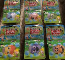 "Lot Of 6 Kids Bubble Packs ""Big A Bubbles"" Bubble Wand Brand New!!!"