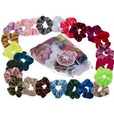 24 x Hair Scrunchies Velvet Hair Band Bundle Accessory Elastic Ring Hair Rope