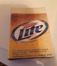 2009 Deck of Miller Lite Playing Cards New In Package