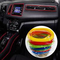 5m Car Styling DIY Flexible Interior Decoration Moulding Trim Strips Universal
