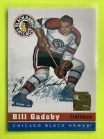2001-02 Topps Archive Rookie Reprints #2 Bill Gadsby Chicago Blackhawks